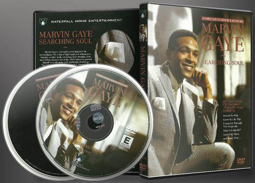Marvin Gaye - Searching Soul (2002) [DVD+CD]