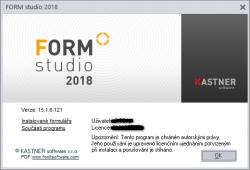 Re: Form Studio 2018