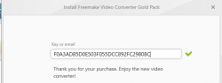 Re: Freemake Video Converter Gold