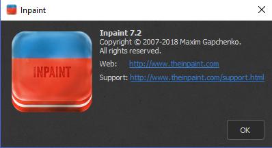 Inpaint - Odstranění nežádoucích objektů z fotografií