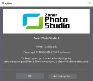 Re: Zoner Photo Studio