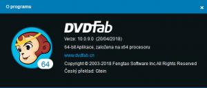 Re: DVDFab 10 CZ