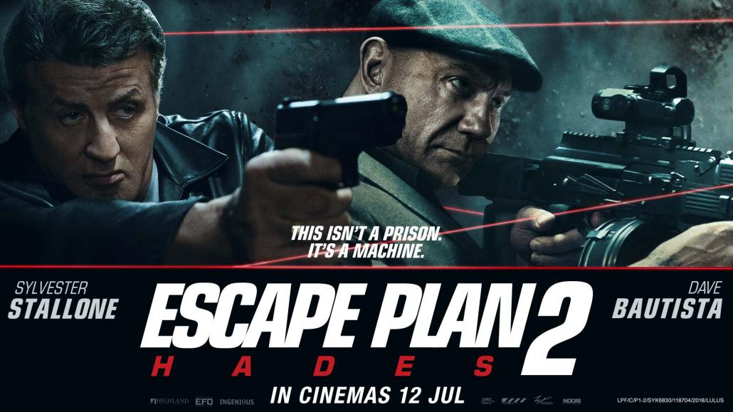 Re: Plán útěku 2 / Escape Plan 2: Hades (2018)