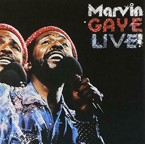 Marvin Gaye - Live! (1974) [Remastered 1998]  FLAC