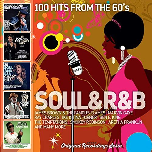 VA - Soul and R&B: 100 Hits from the 60's (2016)  FLAC